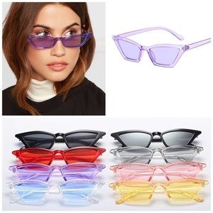 Accessories - ✨New! Le Slim Chic Cat Eye Sunnies(Purple)